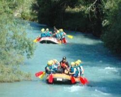 Rafting journée Serre Chevalier RivertTracker en action