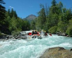 Rafting Serre Chevalier le rapide des Guibertes