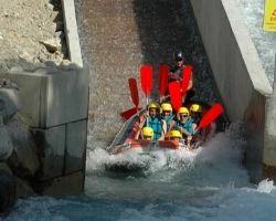 Rafting Sportif Serre Chevalier la glissière