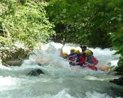 Rafting Sportif Serre Chevalier le rapide du portefeuille
