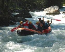 Rafting Sportif Serre Chevalier le rapide d'entrée